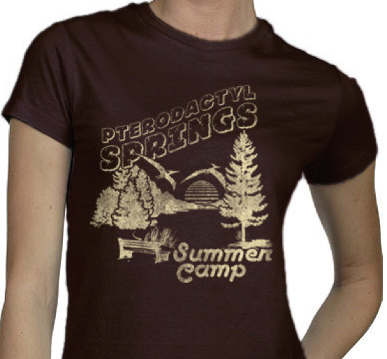 Pterodactyl Springs Summer Camp T Shirt Summer Camp Culture