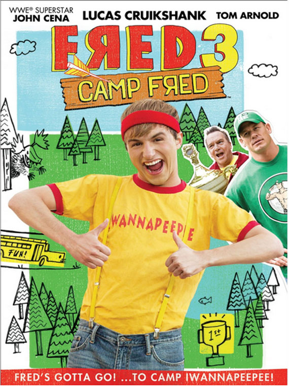 Nickelodeon's Fred 3: Camp Fred , the movie I've taken to calling