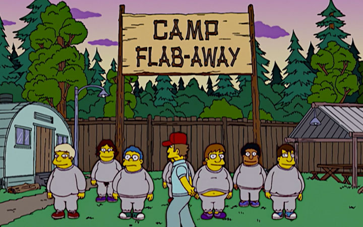 thesimpsonscampflabaway