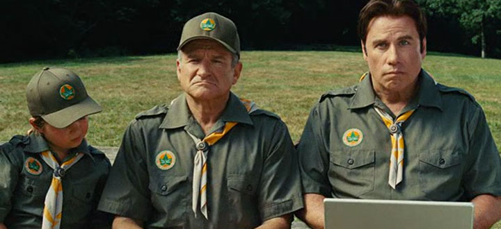 Robin Williams Lasted Only Nine Hours At Scout Camp In Old Dogs Summer Camp Culture