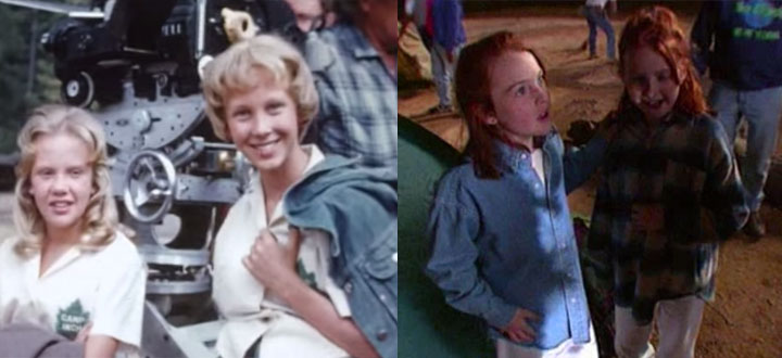 body doubles the unseen actors of �the parent trap� movies